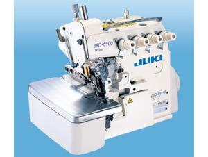 Juki MO 6916S-FF6 Super High Speed Overlock & Safety Stitch Machine, 1.5-4mm SL, 4.8mm W, 1:4 Diff  Feed, Power Stand 8000RPM, 100 Needles