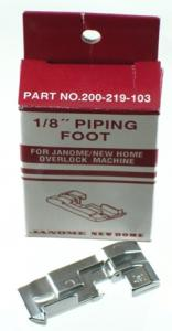 """Janome 200219103 1/8"""" Piping Foot Sergers Models 103 to 9200"""