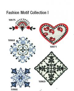 Amazing Designs / Great Notions 1385 Fashion Collection Motif I Multi-Formatted CD