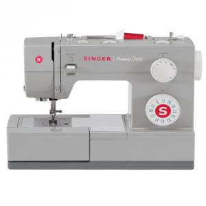 28649: Singer 4423 CL 23/97 Stitch Heavy Duty Freearm Mechanical Sewing Machine, 1-Step Buttonhole, Threader, Top Bobbin, Drop Feed for Free Motion, 1100 SPM