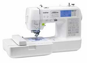Brother LB6770PRW 4x4 Project Runway Sewing and Embroidery Machine+PED Basic Box +10 Extras $300+ Values