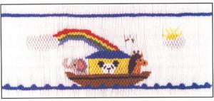 Cross-eyed Cricket  CEC210 Rainbow Promises Smocking Plate