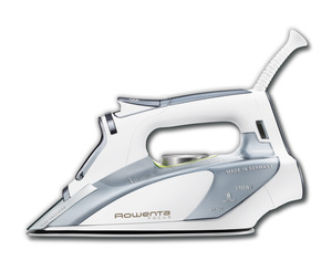 "Rowenta DW5250, DW5090 ,  Focus Sewers Quilters Steam Iron, No Auto Off, 11x5x6in 1700W, 400Hole Soleplate, PreciseTip, AntiCalc, SelfClean, 10ozH2O, Soft Handlem Iron No Auto Off, 11x5x6"" 1700W 400Hole MicroSteam Soleplate PrecisionTip AntiCalc SelfClean 10oz SoftHandle GERMANY"