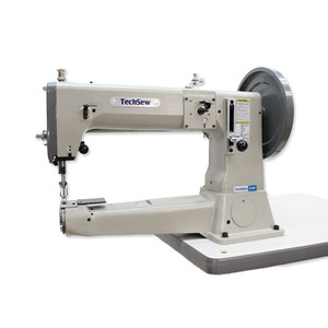 "29033: TechSew 5100FLP 16.5"" Cylinder Bed Walking Foot Leather Stitcher, Power Stand"