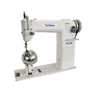 "29034: TechSew 810-1 7""H Post Bed Roller Foot Bottom Feed Leather Stitcher and Wig Machine"