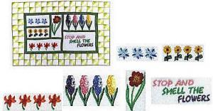 Amazing Designs ES102 Embroideryscapes Floralscape Embroidery Disks