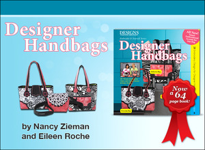 "29233: DIME BK00117 Designer Handbags DVD +28 Designs CD for 5x7""Hoops +64Pg Book"