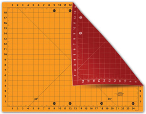 """Sullivans 38216 Cutting Edge 18"""" x 24"""" Gridded Double Sided Cutting Mat"""