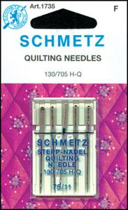 29355: Schmetz S1735 Quilting Needles 5pk sz11/75