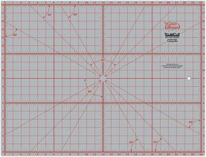 "Grace TrueCut GCM1218 Gridded Cutting Mat 18x24"" for Rotary Cutters"