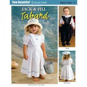 Jack And Jill PJJ  Jack & Jill Tabard Pattern Size 12mo-5
