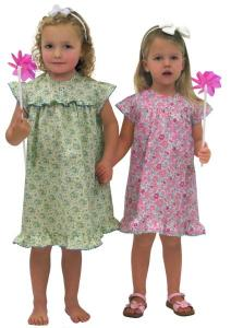 Childrens Corner CC279 Mia A Little Girls Dress With A Slightly Curved Yoke Sewing Pattern 12mo-4