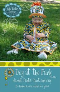 Lila Tueller LT33 Day At The Park Sizes 6m - 6 Years
