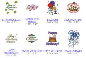 Great Notions 110181  GREETING CARD I Multi-Formatted CD Embroidery Designs