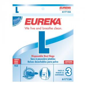 Eureka 61715A-6 Style L Vacuum Bags for use with Eureka 956 Series Canisters (6 pack)