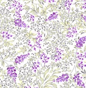 Fabric Finders 15 Yard Bolt 9.34 A Yd L48  Lawn L48 Grape/Chartreuse Fabric 100% Cotton 60 inch