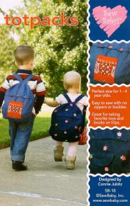 Sew Baby  SB18 Totpacks 1-4yrs Backpacks for Babies Pattern