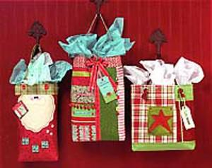 Cotton Way CW266P Gift Bags for Christmas Pattern