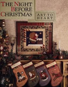 Art To Heart ATH514 The Night Before ChristmasPattern