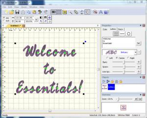 Embrilliance Essentials B1510 Basic Embroidery Graphics Software for Macintosh and Windows Computers