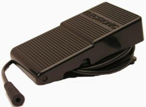 """Singer 988667 Small Pneumatic Air Bulb Foot Control Pedal 5-1/4"""" X 2-7/8in +Air Hose to Machine Port Transducer*"""