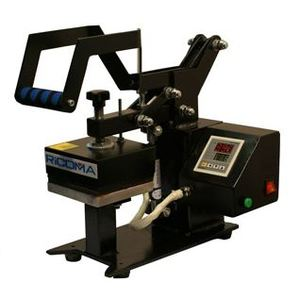 "Ricoma Ikonix HP1212C High Pressure 5x5"" Mini Heat Press, Transfer Logos, Labels, Patches"