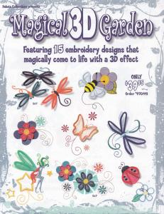 Dakota Collectibles 970441 Magical 3D Garden  Multi-Formatted CD