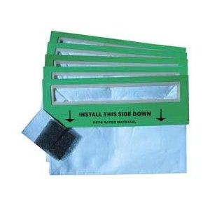 Atrix MMHEPA-5P 5Pk HEPA Filter Bags plus Filtrate and Foam Filter For Mighty Mouth Turbovac Vacuum Cleaner