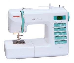 Janome, DC2010, 50 Stitch, Computer, Sewing Machine, 3x1-Step BH's, Memory Needle UpDown, Speed Control, Threader, 20/5Yr Ext Wnty