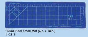 "Kai CB 3 6"" x 18"" Inches, Dura-Heal Large Cutting Mat, Self Healing, for All Brands of Manual Rotary Cutter"