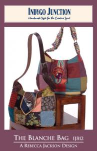 Indygo Junction IJ780 The Matilda Pattern,Shoulder Bag Has 2 Interior Pockets With A Button Closure