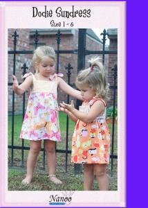 Nanoo Designs Dodie Dress Pattern Sizes 1-6
