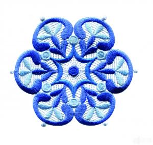 Amazing Designs ADC216 Lacy Snowflakes Some Designs Are 4X4 Multi Formatted CD