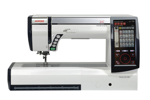 Janome MC15000 Horizon 510 Stitch Sewing, 480 Embroidery, Quilting Machine v2.1, 9mmZZ, AcuFeed, iPadAir, Wifi, 4 Hoops, 1000 Designs, up to 50%Off