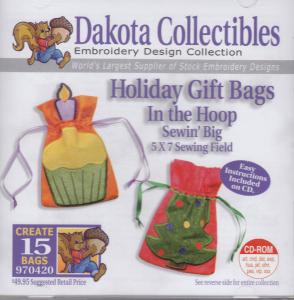 Dakota Collectibles 970420 Holiday Gift Bags 5X7 Designs Multi-Form CD