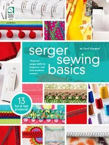 House Of White Birches DRG3648 Serger Sewing Basics - Softcover Book