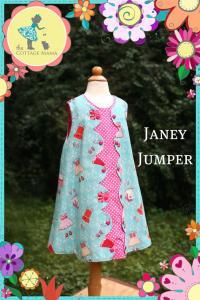 Cottage Mama CBP01 Janey Jumper sz 6mo-10yrs Pattern