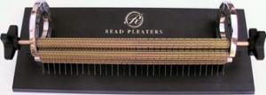 Read 32 Row Smocking Pleater Machine 12.5in Wide Pleating, 32 Needle Rows +16 Half Spaces, 2 Roll Pins, 12 Extra Needles, 5 Videos DVD