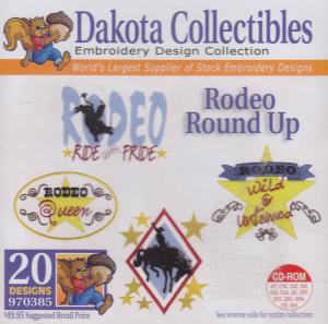 Dakota Collectibles 970385 Rodeo Round Up Designs Multi-Form CD