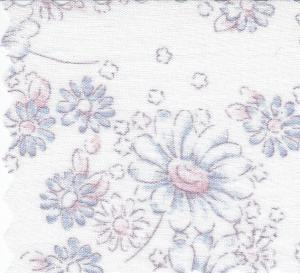"Bear Threads Swiss Batiste Pastel Print Pink 10Yd Bolt 16.99 A Yd 100% Cotton 45"" Wide"