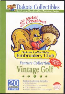 Dakota Collectibles F70204 Vintage Golf Multi-Formatted CD