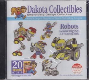 Dakota Collectibles 970319 Sewin' Big #26 Robots Multi-Formatted CD