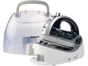 31909: Panasonic NIWL600 360° Free Style Cordless Steam Iron 176-392°F +Case