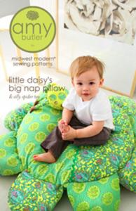 Amy Butler AB053LD Little Daisy Big Nap Pillow & Silly Spider Toy Pattern