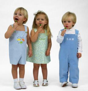 Childrens Corner CC274 William And Winnie Romper Jumper Sewing Pattern, Size 12mo-4Yr