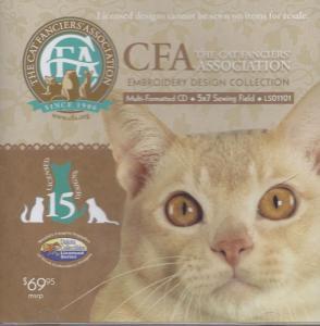 Dakota Collectibles LS01101 CFA Cat  Designs Multi-Formatted CD