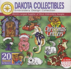 Dakota Collectibles 970121 Christmas Critters Designs  Multi-Formatted CD
