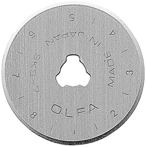 Olfa RB28-2, 2 Pack 28mm Replacement Rotary Knife Blades for RTY-1 Cutter