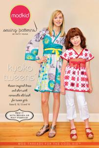 modkid Kyoko Tweens' Asian-inspired Shirt And Dress With Removeable Belt Pattern Sizes 8, 10, 12 and 14
