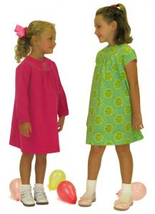 Childrens Corner CC281Rose Dress Pattern 1-4